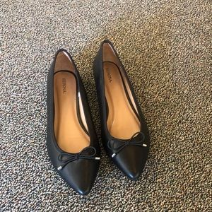 Merona Pointy Toe Flats size 10